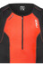 2XU Perform Tri Singlet Men desert red print/black